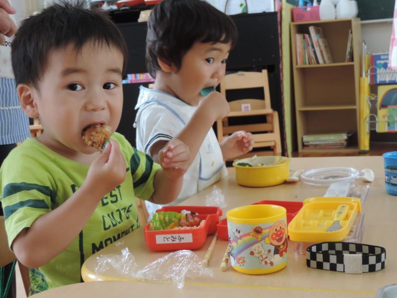 共研幼稚園の給食